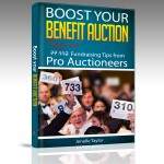 Cover Photo of new book Boost Your Benefit Auction