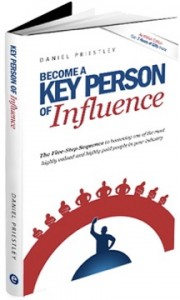 Book Key Person of Influence by Daniel Priestley