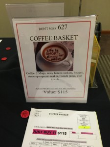 photo for a coffee basket