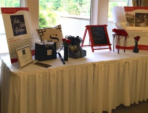 photo of auction display