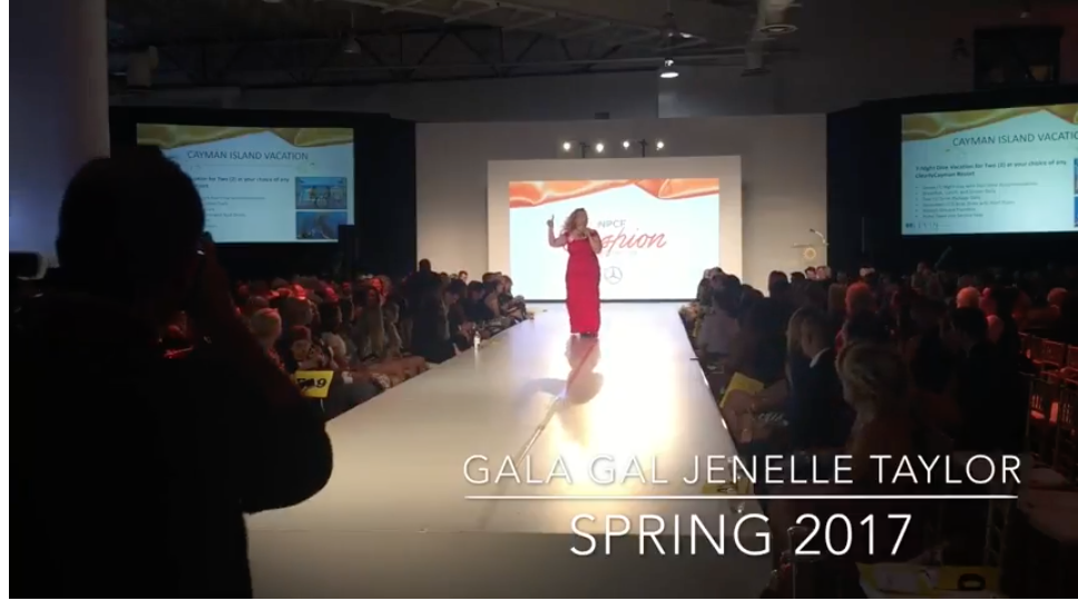 photo of charity auctioneer GALA GAL Jenelle Taylor