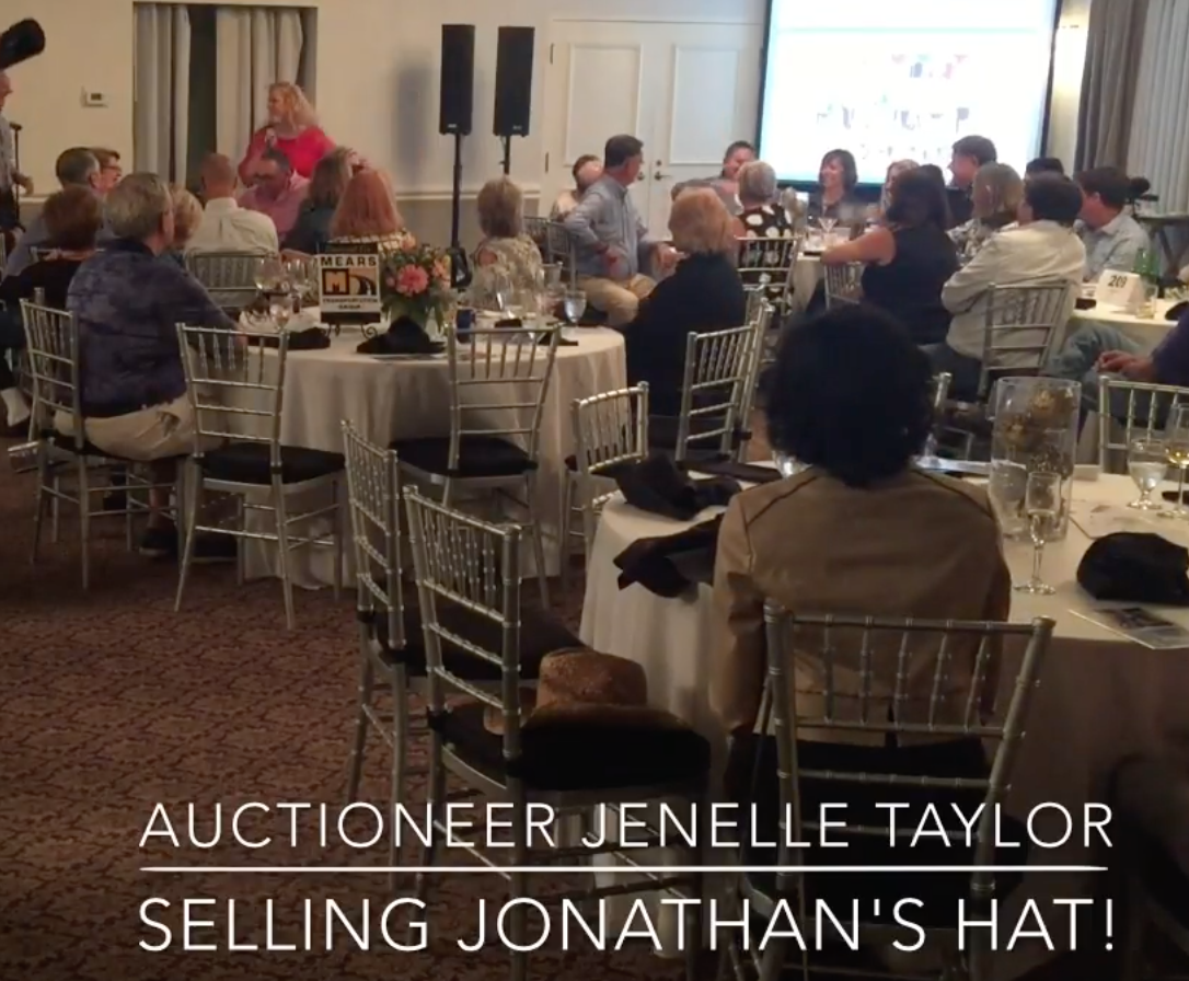 photo of auctioneer GALA GAL Jenelle Taylor