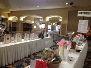 image of silent auction