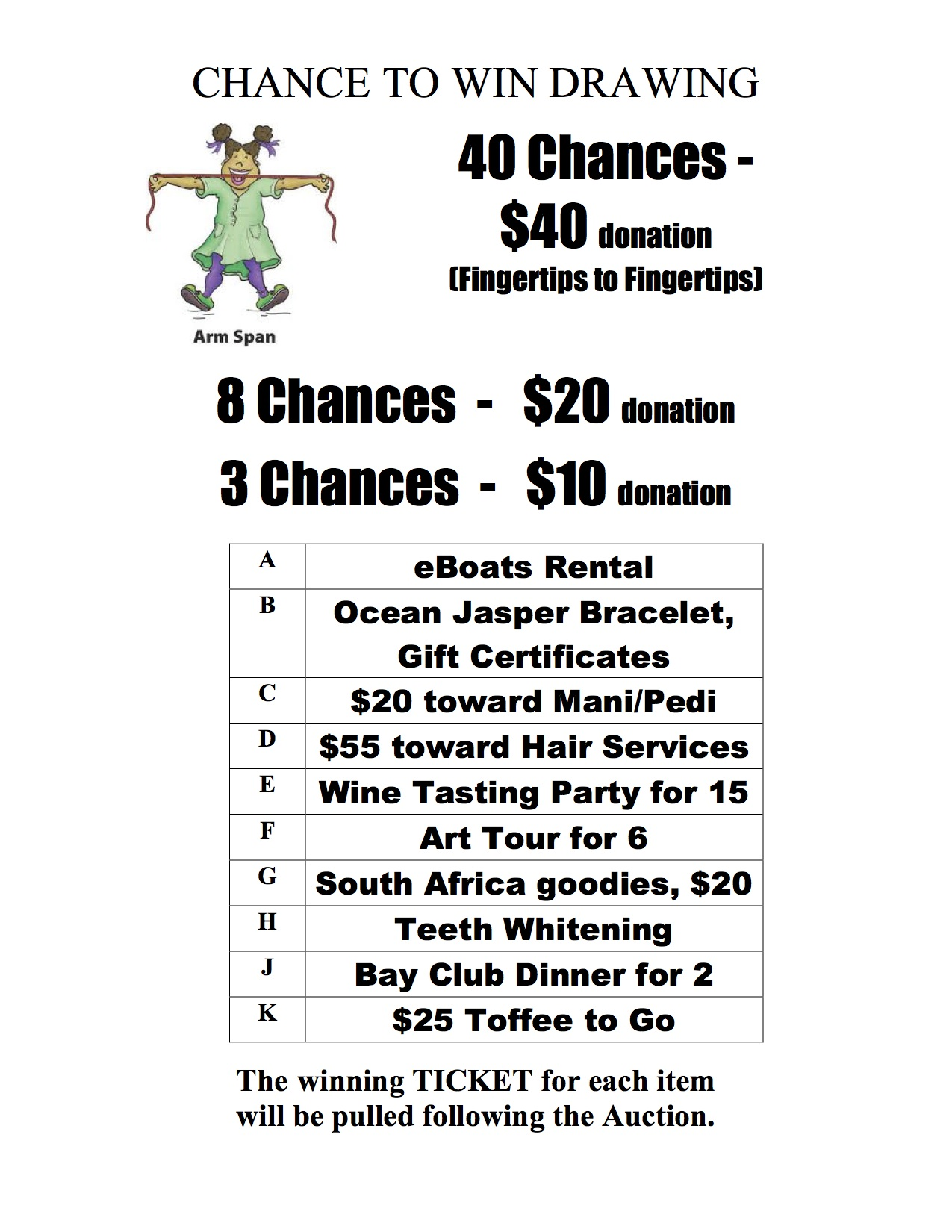 Poster Showing Raffle Ticket Pricing  Dinner Tickets Template